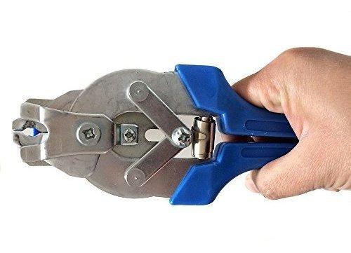 herramientas de alicates de anillo de cerdo, jaula de aves d