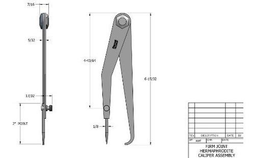herramientas de mano,starrett 243-6 hermafrodita conjunt..