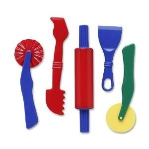 herramientas dough - 5 piezas surtido