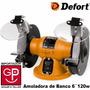 Amoladora De Banco 6´´ 120w Dbg-131n Defort Alemania