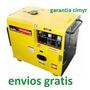 Generador Planta Electrica 6500w Toyama Diesel Silenciosa