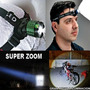 Linterna Frontal Zoom 23000 Lm Led Rcargable Bicicleta Casco