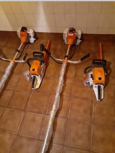 herramientas nuevas sin uso desmalizadora y motosierra