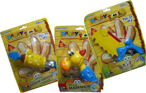 herramientas para bebes luz y sonido t/manny hermosas jiujim
