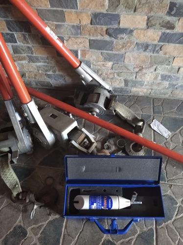 herramientas para electricidad de alta tensión usadas