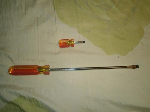 herramientas rebordeador llaves destornilladores cepillo
