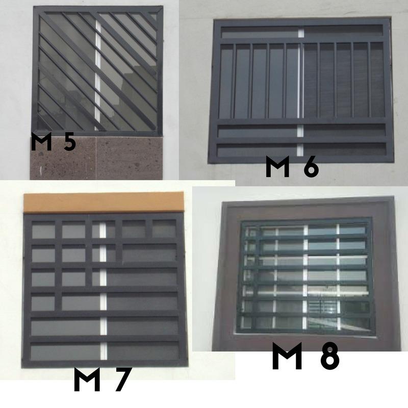 Herreria a domicilio rejas protector de ventana for Puerta herreria minimalista