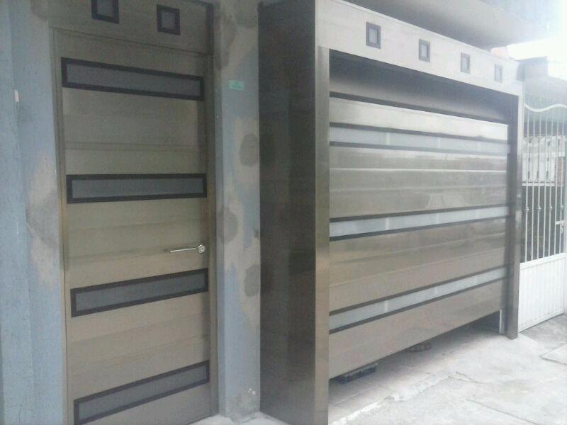 Herreria aluminio vidrio techos portones electricos 99 for Precio de puertas electricas