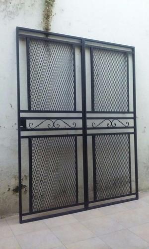herreria frentes de reja puertas portones ventanas escaleras