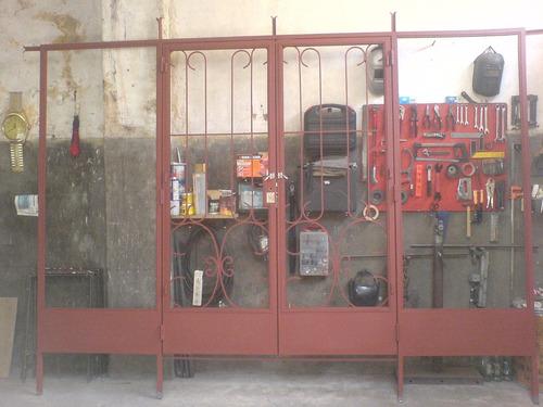 herreria herrero rejas portones cerramientos protecciones