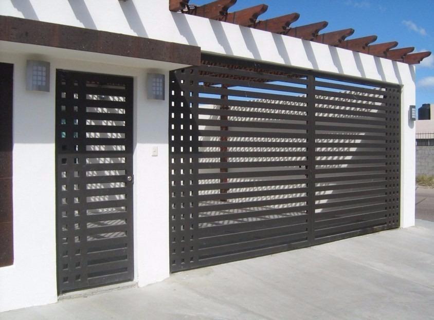 Herreria portones cerramientos puertas estructuras - Puertas de piso a techo ...
