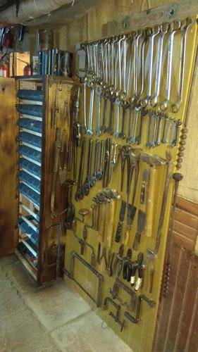herrqmientas antiguas llaves francesa caño morsa yunke etc