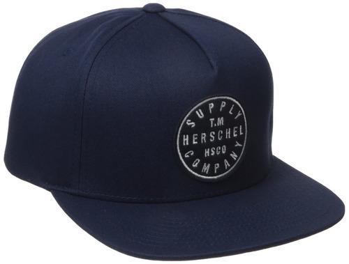 herschel supply co. hombres tm algodón, azul marino, talla ú