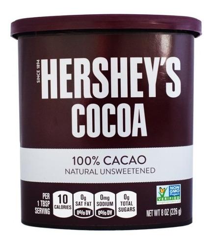 hershey´s cocoa en polvo 100% chocolat - kg a $128