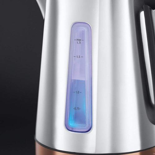 hervidor de agua acero inoxidable elegante 1,7l  b&d ke24280