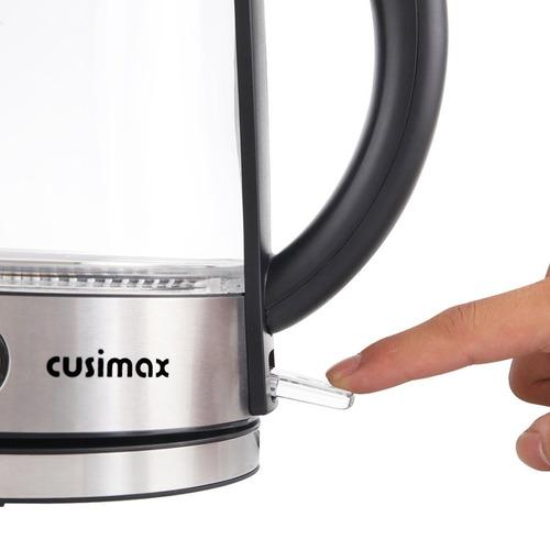 hervidor de agua electrico cusimax 1.7 lt automatico ilumina
