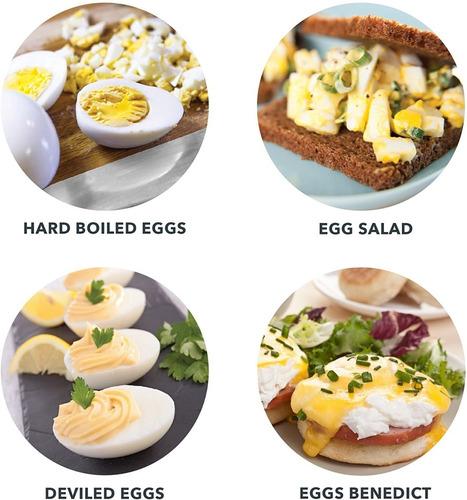 hervidor de huevos dash 6 huevos apagado automatico