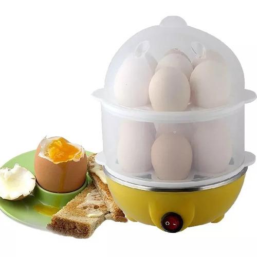 hervidor de huevos electrico con doble olla