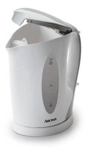 hervidor eléctrico aroma de 1.5 litros color blanco
