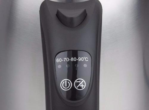 hervidor inox 1,7l ajuste de temperatura  rca rh-1740