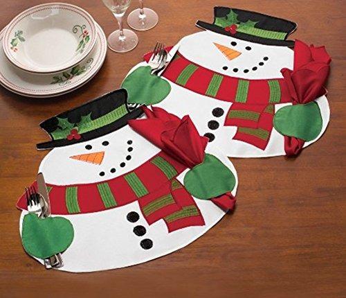 hever plato food bowl mantel servilleta de navidad del muñe