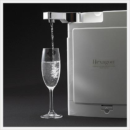 Hexagon sistema de filtraci n de agua hidr geno alcalina for Cocina con hidrogeno