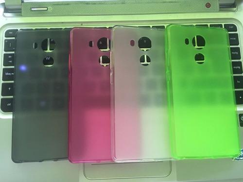 hey case funda tpu huawei mate 8 + cristal 9h colores 88h