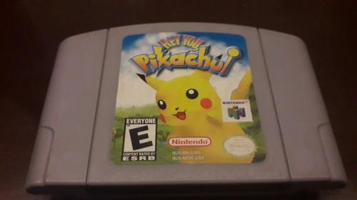 hey you, pikachu! - nintendo 64