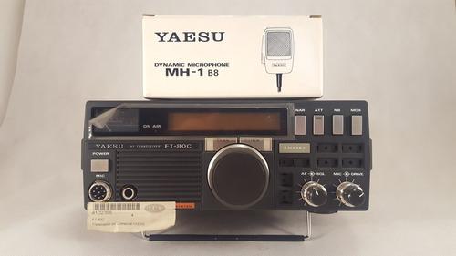 hf blu yaesu ft-80c mh-1d8