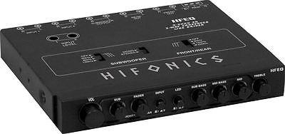 hfeq hifonics ecualizador de 4 bandas de 1/2 din con