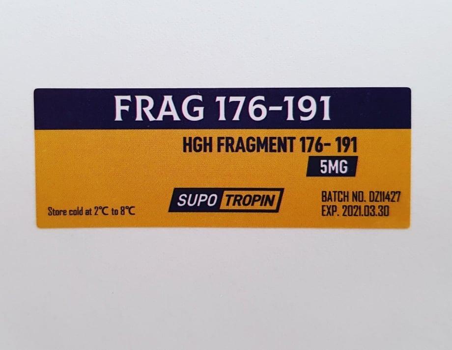 Hgh Fragment 176-191/ 3 Vials De 5mg = Total 15mg + Diluente