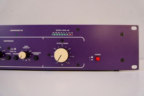 hhb radius 50 tube mic pre amp compressor valvula 12x s/juro