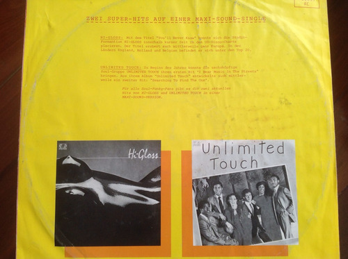 hi-gloss you'll never know - unlimited touch single