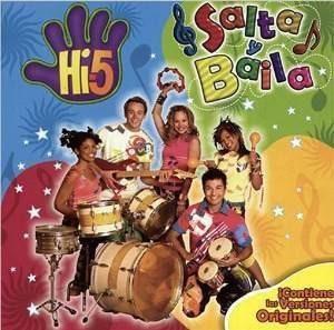 hi5 - salta y baila - cd infantil hi-5 (nuevo) infantil