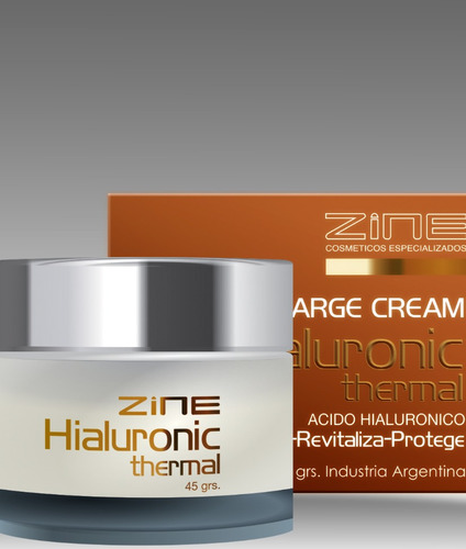 hialuronic thermal hidratante anti age zine 45g