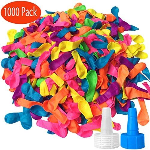 Hibery 1000 Pack Globos De Agua Con Juegos De Recarga 72 900 En