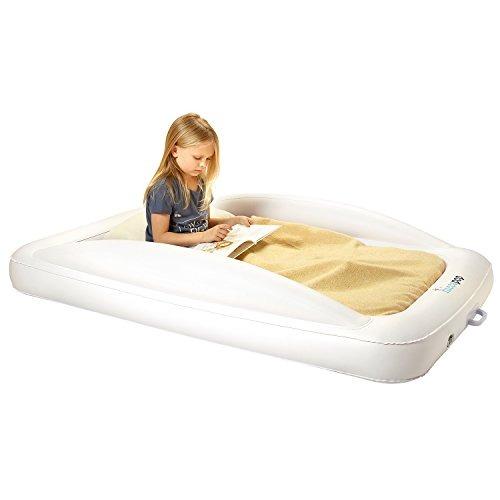 Hiccapop cama de viaje inflable para ni os peque os con p - Cama para ninos pequenos ...