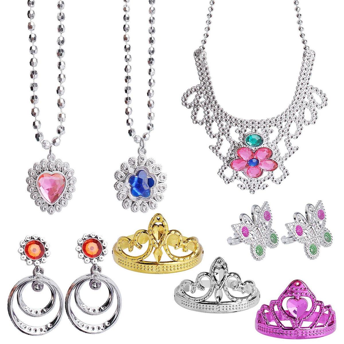 Hicdaw 71 Princesa Joyas Pretender Niña Piezas Juguete Pr 7by6Ygvf