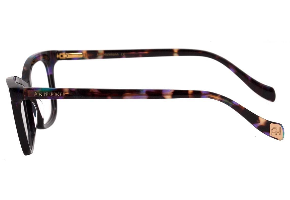 Ana Hickmann Ah 6335 - Óculos De Grau C01 Preto E Marrom Me - R  251 ... cf1b562a3c