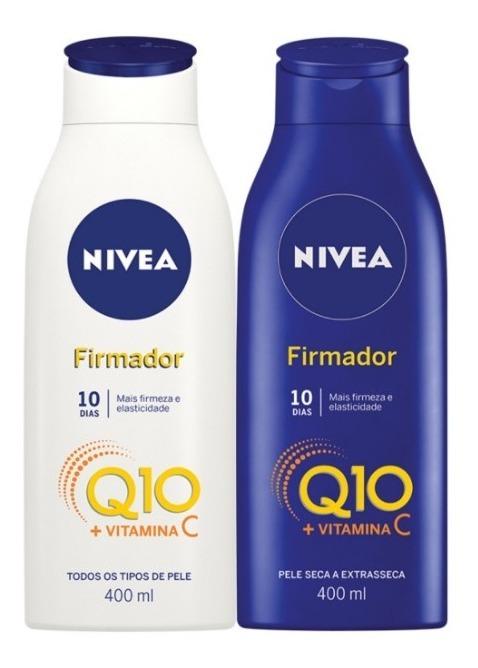 Resultado de imagem para nivea firmador q10 vitamina c
