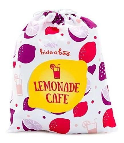 hideaboo lil 'biz polyester easy lemonade stand cubierta
