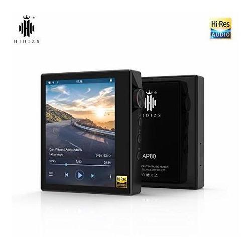 hidizs ap80 reproductor de musica hifi ultraportatil con rep