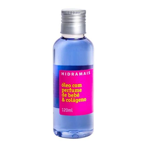 hidramais óleo com perfume de bebê/colágeno 120ml