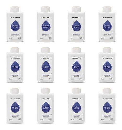 hidramais perfume de bebê loção hidratante 500ml (kit c/12)