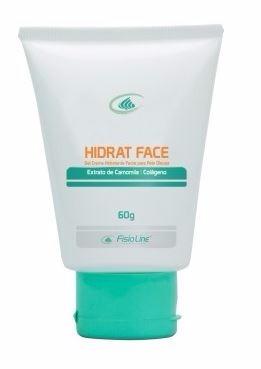 hidrat face hidratante facial pele oleosa 60gr fisioline
