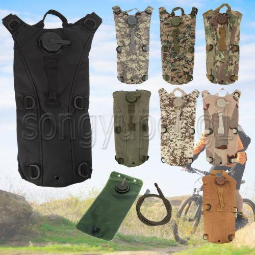 hidratación 3l paquetes de bolsa de agua táctico asalto
