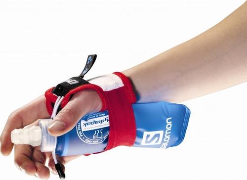 hidratación unisex salomon- sense hydro slab set rojo/blanco