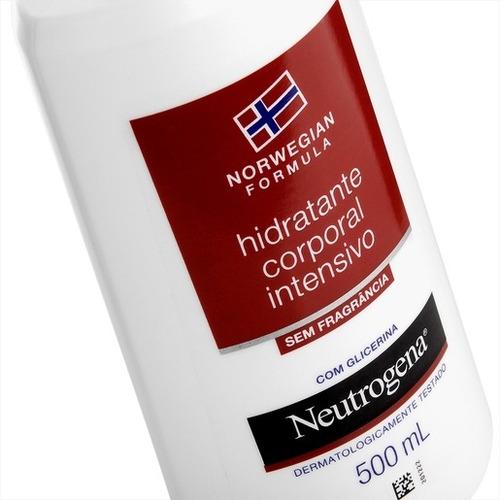 hidratante corp. neutrogena norwegian body s/ fragr. 500ml