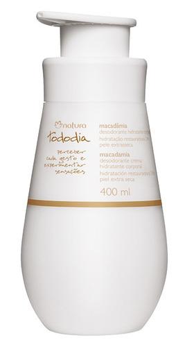 hidratante corporal tododia pele extrasseca macadâmia 400ml