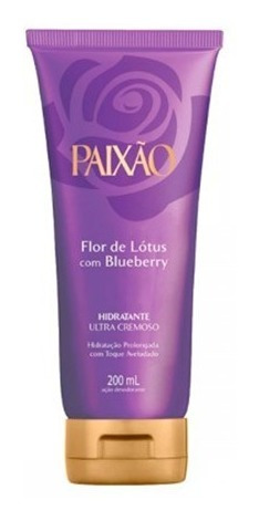 hidratante desodorante paixão lotus blueberry 200ml